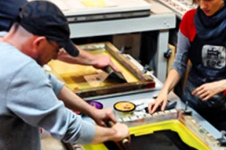 Multi-Level Screenprinting