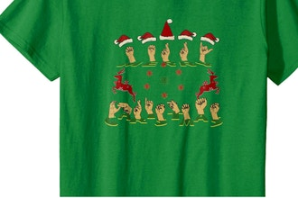 Merry Xmas Tshirt with Scan N Cut
