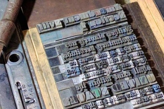 Introduction to Platen Letterpress Printing