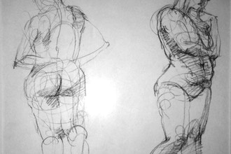 Introduction to Figure Drawing with a Model - Figure Drawing Classes