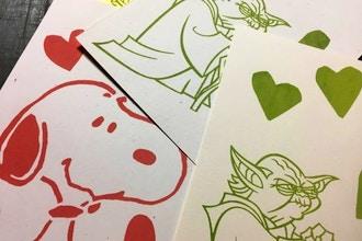 DIY Greeting Cards: Screenprinting