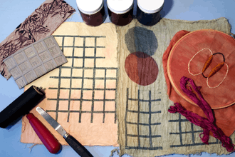 Textile Art: Print, Embroidery, & Dyes (Online)
