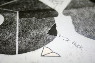Letterpress Pressure Prints