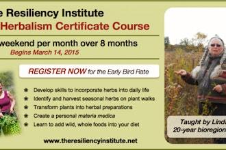 TRI Bioregional Herbalism Certificate Course