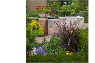 Late Season Perennials with Annuals