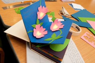Pop-Up Paper Holiday Card Workshop