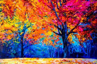 Color in the Autumn Landscape