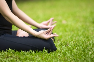 Zen Yoga and Meditation in the Garden