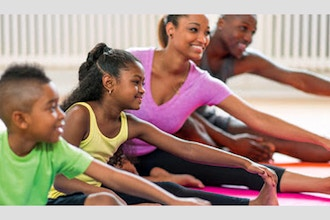 Family Fun Yoga: Ages 5+ (Remote Live)