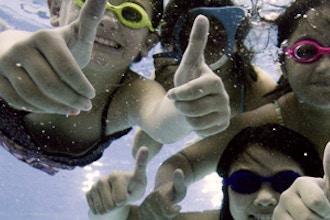 Kid Swim Beginner 1: Leman Manhattan Prep, Middle & HS