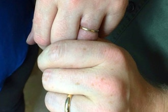 Couples 6 Hour Gold Wedding Bands (Private)