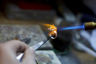 Silversmithing Workshop for Two (Private)