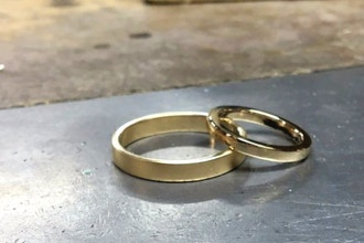 Couples 4 Hour Silver Wedding Bands (Private)