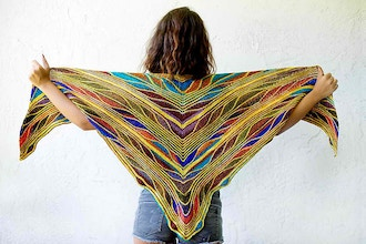 Papillion / Butterfly Shawl (Interm)
