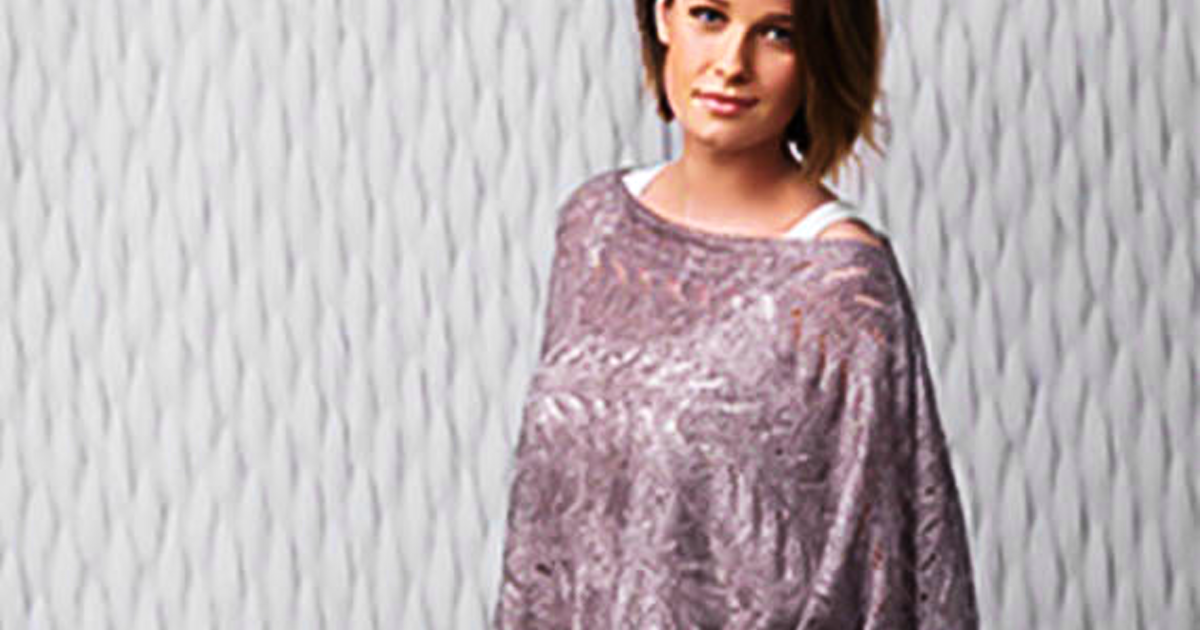 Air Lux Lace Poncho Class (Interm) - Knitting Classes Chicago ...