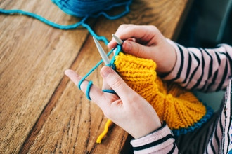 Parent & Child Knitting - (Beg)