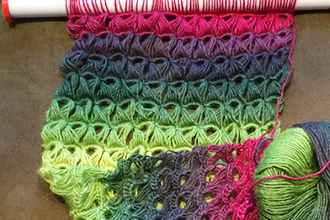 Intro To Broomstick Lace Crochet Crochet Classes Chicago