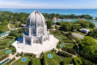 Sketching at the Baha'i Temple (Ages 14-18)