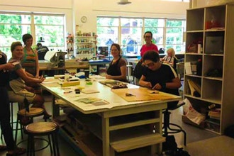 The Chicago Mosaic School at EAC: Plaster in Mosaic