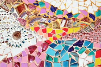 Color & Contrast in Mosaics
