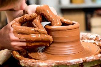 Intermediate/Advanced Wheel Thrown Ceramics