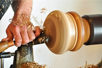 Intermediate Woodturning for Adults