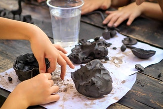 Exploring Clay: Sound and Movement Camp (Ages 6-8)