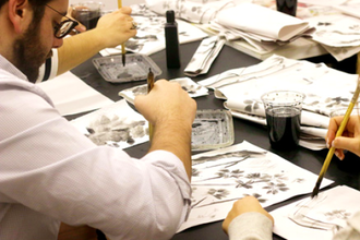 Japanese Ink Painting (Sumi-e)