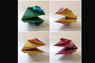 Virtual Origami Workshop: Origami Snap Dragons
