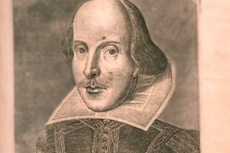 The Man, the Myth, the Works: Celebrating Shakespeare