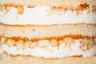 Bake the Book Series: Apple Pie Cake & Truffles