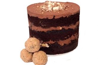 Bake the Book Series:Chocolate Birthday Cake & Truffles