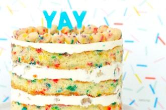 Bake the Book Series: Kids Birthday Cake & Truffles