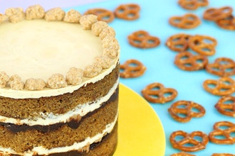 Bake the Book Series: Pretzel Cake & Truffles
