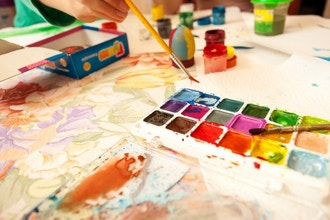 Painting with Watercolors (Ages 7-14 yrs)