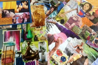 Prosperity + Peace: Vision Boards and Meditation