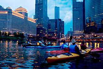 Architectural Chicago Kayak Tour
