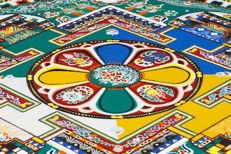 Creating a Sand Mandala for Abundance