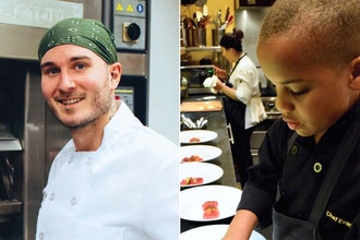 Meet the Chefs: Chef Greg & Jr MasterChef Evan (kids)