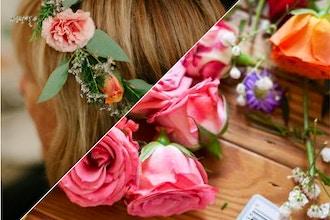 Flower Crown Workshop & Rose' with Crowning