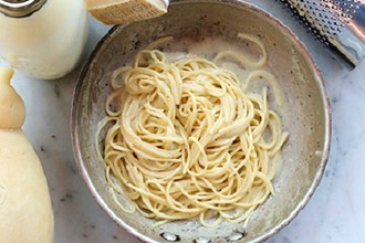 Virtual Cooking: Summer Sauces ~ Cacio e Pepe Pasta