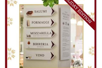Walking Tour of Eataly: Bring Home An Italian Edition