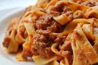 Virtual Cooking: Summer Sauces - Pasta alla Bolognese