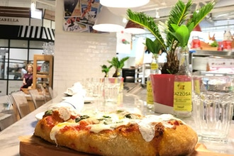 Hands-On Pizza alla Pala at SABBIA
