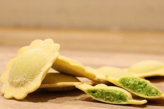 Seasonal Favorites: Spring Pea Ravioli