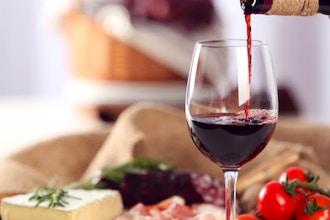 A Tasting of 20 Wines and Regional Food Pairings
