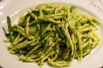 Virtual Cooking: Summer Sauces: Pasta al Pesto
