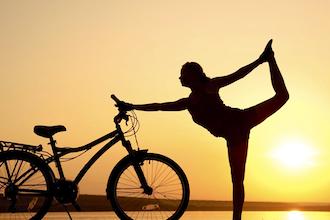 Bike and Yoga Tour