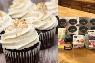 Virtual Cook Along: Cupcake Workshop: New Menu