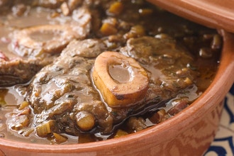 Virtual Cooking Demo: Braised Osso Buco with Polenta
